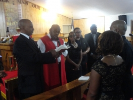 Ordination Service Deacon Jones